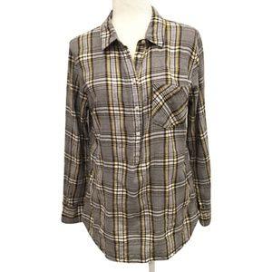 Merona Pop Over Flannel Size XL